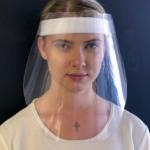 Gesichtsbedeckung Schutzvisier mit Druck